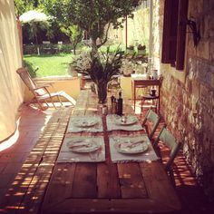 my summer home#table by Wood of joy
