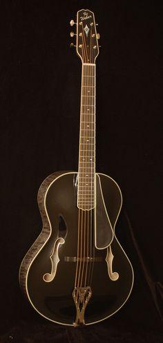 Weber Black Ice Archtop Guitar