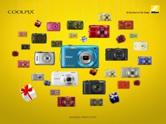 Find the perfect camera in a flash. For every special someone there's a COOLPIX to match.