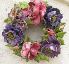 Ceramic wreath 11 | por lovedaylemon