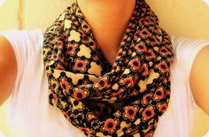 """I have been obsessed for quite sometime with """"O""""/infinity scarves (basically scarves with no end). I bought a deep plum one from Target a ye..."""