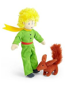 The Little Prince with Fox Soft Toy * Continue to the product at the image link.