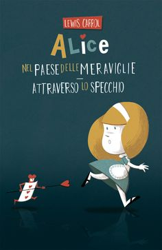 Alice's Adventures in Wonderland.  Newton covers, 2008.  Cover series for the italian publishing house Newton.