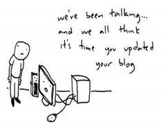 Blog - writer's block
