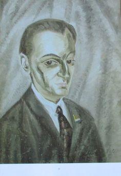 Salvador Dali BILDNIS JOSE M TORRES Kunstdruck Reproduktion spanischer Maler