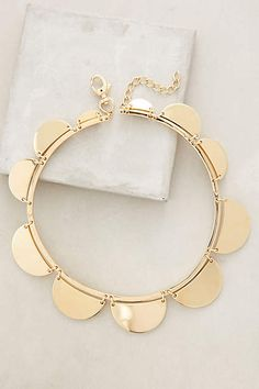 Scalloped Necklace - anthropologie.com