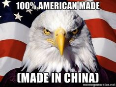 American Pride Eagle - 100% American made (Made in China)