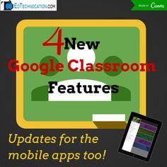 EdTechnocation: Google Classroom Updates! (February, 25, 2015)