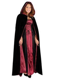 Looking for the perfect Gsg Hooded Cloak Adult Costume Cape Renaissance Medieval Halloween Fancy Dress? Please click and view this most popular Gsg Hooded Cloak Adult Costume Cape Renaissance Medieval Halloween Fancy Dress. Clever Halloween Costumes, Halloween Looks, Halloween Fancy Dress, Funny Halloween, Hooded Cloak, Adult Costumes, Jacket Dress, Trendy Plus Size, Homecoming Dresses