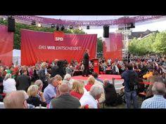 Peer Steinbrück stellt sein Kompetenzteam zum Wahlkampfauftakt in Hamburg vor!