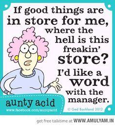 Aunty Acid - Best Of!