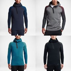 Sweat a capuche Nike Sportswear Tech Fleece couleur