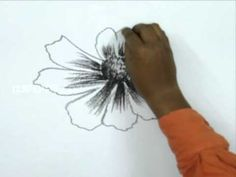 How to Draw a Hibiscus