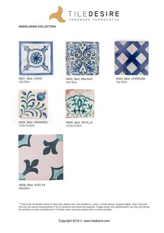 Blue and White handpainted tiles. The beautiful art of Andalusia. Handpainted by TILE DESIRE #beautifultiles #blue #Ihavegotthisthingwithtiles #ceramic #tile #tiles #ceramictiles #terracottatiles #terracotta #zellige #blue #white #blueandwhite #andalucia #spanishtiles #decorativetiles #patterntiles #floral #geometric #floraltiles #interiors #wall #floor #splashback #kitchen #bathroom #patio #garden #TileDesire #desire #mediterraneantiles #mediterranean