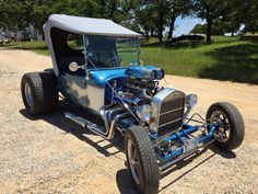 Fun to drive 1923 Ford T-bucket. 350 double barrel Chevy engine. 350…