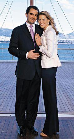 Prince Nikolaos of Greece and Denmark and Tatiana Blatnik  Married: 25 August 2010 in Spetses, Greece