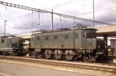 SBB Ae 3/6 I Antriebsseite, Däniken, 1979