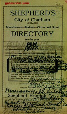 This directory is comprised of several local directories including miscellaneous, business, citizen and street directories. Included in the miscellaneous directory is information on city of . Chatham Ontario, Chatham Kent, Citizen, Digital, Street, City, Business, Collection, Store