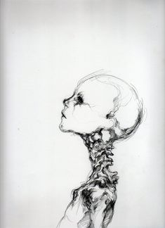 Creepy art, simple skull drawing, scary drawings, creepy paintings, death a