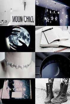 Moon and stars, books and boots, there's no way to better explain Ruby. Mystery and writing. Moon and stars, books and boots, there's no way to better explain Ruby. Mystery and writing. Wicca, Magick, Witchcraft, Witch Aesthetic, Aesthetic Collage, Night Aesthetic, Moon Witch, Moon Child, Ravenclaw