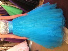 Prom dress blue 2013 dazzling dress rentals riverton utah