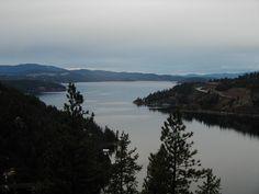 Lake Coeur d'Alene, Idaho, USA