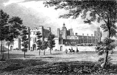 The Mannor of THEOBALDS, TONGS, alias THEOBALS, WHICH Names doubtless it received from some Persons, who in old time were Lords hereof, but the House was built by William Lord Burleigh, late Lord Treasurer of England, which saith Camden, was most fair and elegant in Respect of the Workmanship, and most pleasant in Respect of the Gardens, Orchards, and Walks adorn'd with delicious Groves. When King James came from Scotland to London, he staid at this House...
