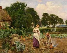 British Paintings: Henry John Yeend King