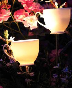 tea light burner - love these for a slightly Alice In Wonderland evening