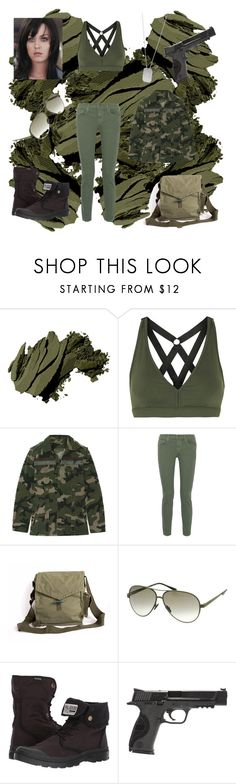 """""""Part Of Me By Katy Perry"""" by amartin10 ❤ liked on Polyvore featuring Bobbi Brown Cosmetics, Koral, Valentino, The Great, Italia Independent, Palladium, Smith & Wesson and BillyTheTree"""
