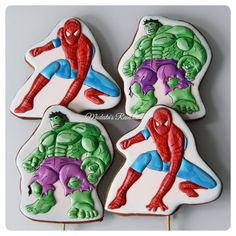 Супергерои!   Всех мультяшек можно посмотреть по хэштегу #персонажимр  #royalicingcookies #gingerbread #decoratedcookies #cookiedecoration #sugarart #пряник #пряники #имбирноепеченье #имбирныепряники #пряникалматы #пряникиалматы #customcookies #пряничныетопперыдляторта #пряничныетопперыдляторта