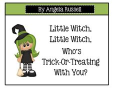 This is a cute rhyming book to add to you Halloween Unit. It only comes in color and is 8 pages long. Just print and laminate. I like to place a large metal ring in the upper left corner to keep the pages together.New* Little Witch CollectionHalloween ~ Go Away, Big Black CatHalloween Math Center ~ What Is The Missing Number, Little Witch?Halloween Song ~ This Little Witch Has A Farm