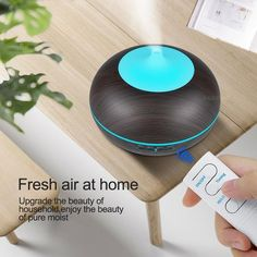KBAYBO USB Air Humidifier Aroma Diffuser remote control 7 Colors Changing LED Lights cool mist maker Air Purifier for Home Ultrasonic Cool Mist Humidifier, Natural Essential Oils, Essential Oil Diffuser, Usb, Aroma Diffuser, Air Purifier, Control, Aromatherapy, Water Dispenser