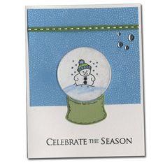 Celebrate the Season snow globe