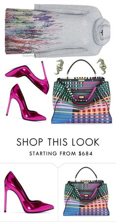"""""""colourful mood"""" by itsdeema ❤ liked on Polyvore featuring Yves Saint Laurent, Fendi and Twister"""