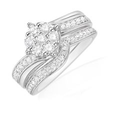 Zamel's Wedding Ring Set.
