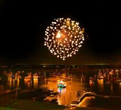 The North Carolina Holiday Flotilla And Fireworks Held Annually On Thanksgiving Weekend In Wrightsville Beach Nc Photography By Joshua Mcclure
