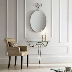 Classic wrought iron Console table Nilo by Target Point