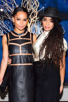 Lisa Bonet and daughter Zoe Kravitz