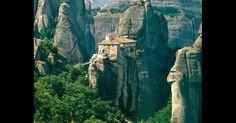 Monastério de Meteora, na Grécia