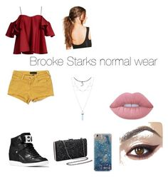 """""""brookes normal wear"""" by carrollgabriel on Polyvore featuring Anna October, Juicy Couture, MICHAEL Michael Kors, Boohoo and Lime Crime"""
