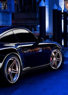 ♂ Luxury car Porsche #blue #wheels #automotive