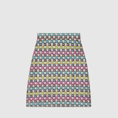 Discover the full range of women's skirts by Gucci. Shop the collection featuring metallic pleated midi skirts, tweed and velvet mini skirts, and satin maxi skirts. Country Best Friends, Wool Mini Skirt, Silk Wool, Seulgi, Work Fashion, It's Your Birthday, Luxury Branding, Ready To Wear, Bass
