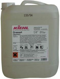 Kiehl Grasset Detergent alcalin pentru indepartarea grasimilor, uleiurilor si proteinelor de origine vegetala. Personalized Items