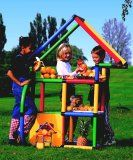Quadro Starter Playset - build over 35 structures from the included plans including a fort, juice bar, house, theatre, climbing gyms. Modular tubes withstand sun and heat, or set up inside. Now at $331.89 - Shipped only in the USA.