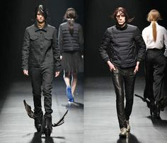 (1) CHRISTIAN DADA - Mercedes-Benz Fashion Week Tokyo: Japan Fashion Week: Denim & Jeanswear 2013-2014 Fall Winter Mens Runways I: Designer Denim Jeans Fashion: Season Collections, Runways, Lookbooks and Linesheets