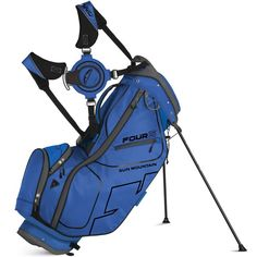 4fadb1d99708 The top on these mens four 5 golf stand bags by Sun Mountain has fourteen  individual