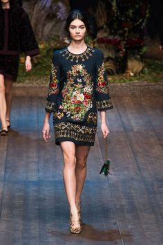 Dolce & Gabbana F/W 2014 #fashion for more follow pyra2elcapo