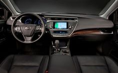 The interior of the new 2013 Toyota Avalon in N Charlotte - this redesigned sedan is available with hybrid technology to save you major money at the gas pump, and still offers the same luxury, technology, and comfort that make it such a popular vehicle for drivers who are looking for that little something extra. Come to N Charlotte Toyota for info today!     http://blog.toyotaofnorthcharlotte.com/2012/toyota-of-n-charlotte-anticipating-the-2013-toyota-avalon/