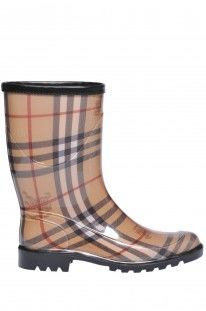 Burberry Outlet - Rubber rain ankle boots :: Glamest Online Fashion Outlet
